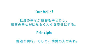 リクパーour belief principle